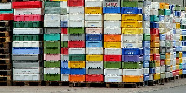 Envases retornables en el transporte de mercancias